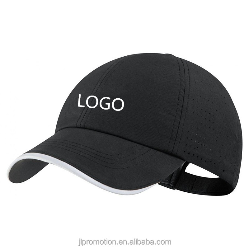 Productkwaliteit Klittenbandsluiting Klep 100% polyester Tour Perforated Golf Cap