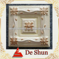 100X100mm ceramic Rustic Wall Flower Tile