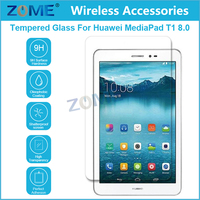 New Premium Real 9H Tempered Glass Screen Protector Film For Huawei Mediapad T1 8.0 Laptop Touch Screen
