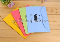 Facial hair paper file folder