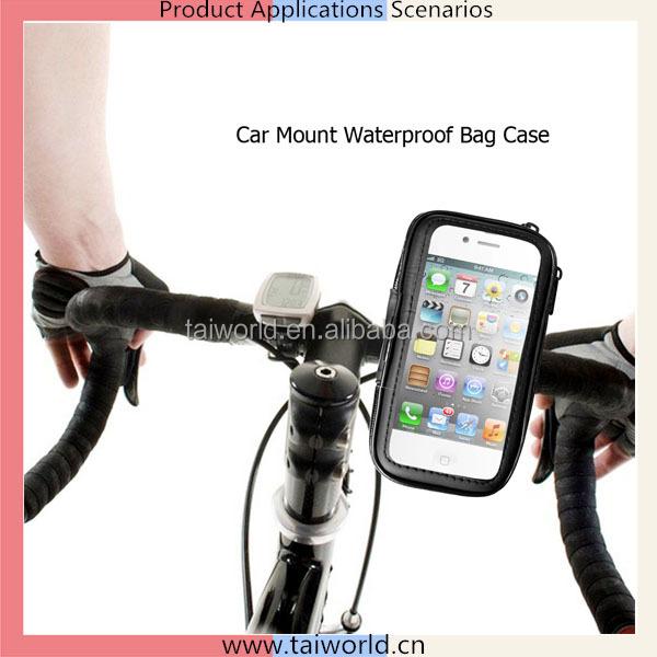 Bike Sport Mount Holder Waterproof Cover Bag Special for 3.5-6