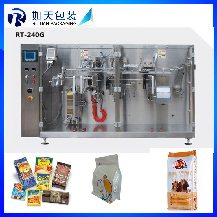 factory supply yogurt/juice/water standing bag/doypack filling capping packaging machine