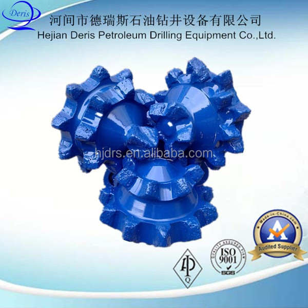 Best quality API water well steel tooth tricone drill bit manufacturers
