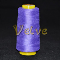 Tex 24 thread work pillow cover sewing thread poly core spun thread to sewing