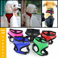 Hotsale 5 Colors 5 Sizes Available High Quality Mesh Dog Harness,Puppy Comfort Harness