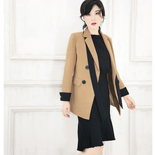 Latest designer ladies casual office skirt suit and blouse