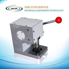 CR20xx serial button cells stamping machine for electrode/separator cut for coin cell for battery researches.
