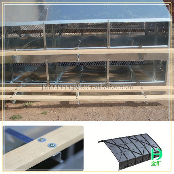 hen nest for laying egg,chicken nest boxes for sale/24 hole zinc sheet chicken egg nest box