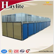 Hot dip galvanized Frame Portable PVC Horse Stall for sale
