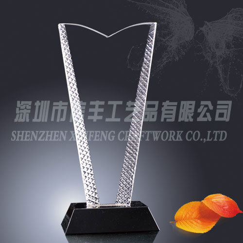 Manufacturing souvenir plate blank glass business crystal award plaques