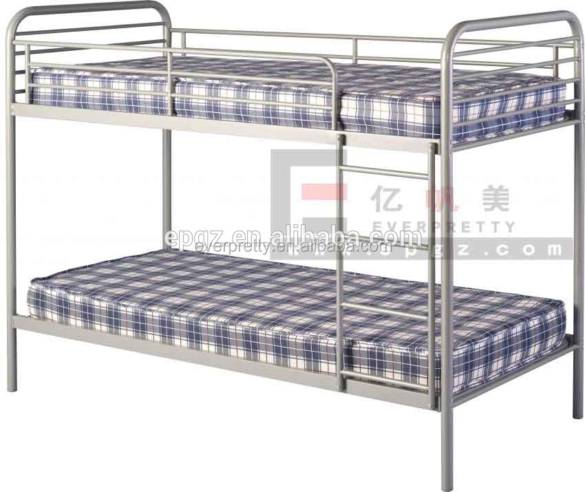 Hot Selling Bed Room Furniture Wrought Iron Double Bunk Beds Design