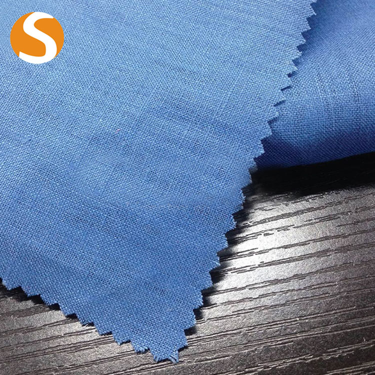2017 wholesale curtains new style 100% bulk shirting linen fabric
