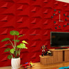 Embossed light texture hot sale manufactured wall paper