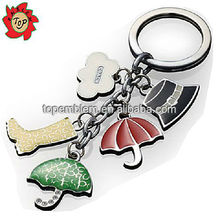 Custom metal promotional metal keychain