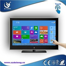 Customize 32 inch LCD Touch Screen All In One Vga To AV Converter For TV And PC Combo Stand