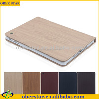 New Fashion Contracted Holster Wood Grain Series Leather Case For ipad 2/3/4