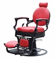 2017 hot sale hydraulic reclining barber chair manufacturer in China