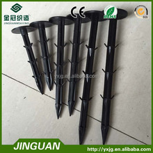 plastic ground pegsfor fixing weed mat,plastic nail, mulch pegs in gardening
