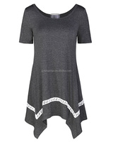 Wholesale OEM Women's Short Sleeve Loose Casual T-Shirt