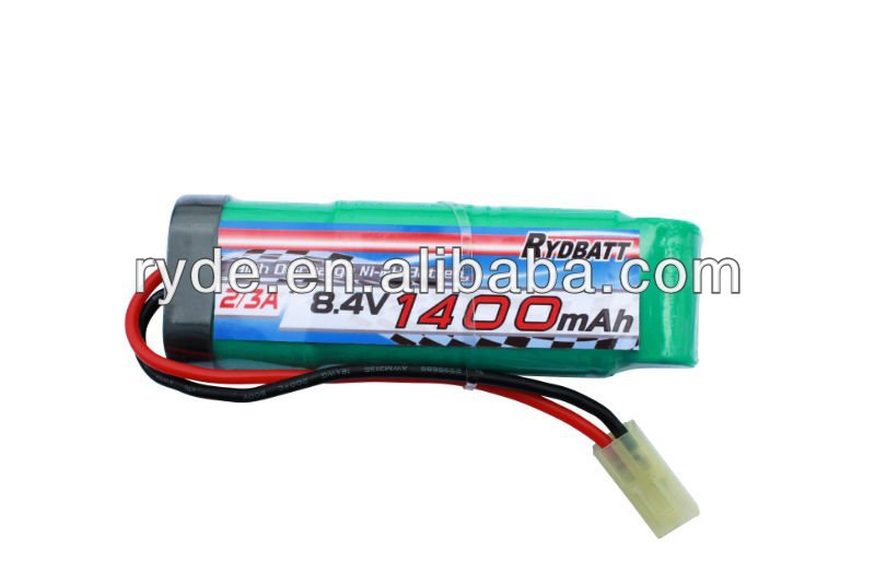 RYDBATT-MH-8.4V-2/3A 1400mAh Rechargeable Battery