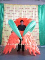 New design 2m high costume inflatable flower