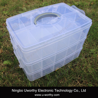 Transparent Plastic Fruit Storage Box