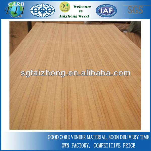 High Quality Nature Teak Fancy Plywood