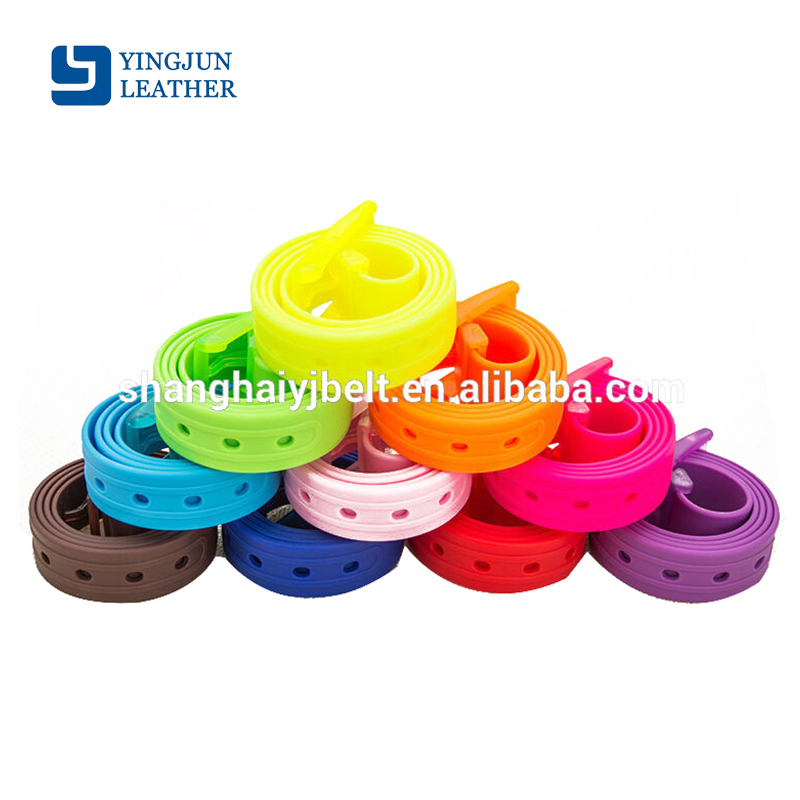 Fruit Golf Baseball Softball Jelly Rubber belt Silicone Belt Colorful Plastic Belts YJ-H00001