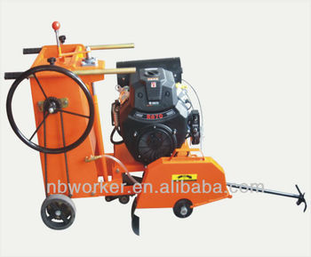 WKC600 Concrete Cutter powered by gasoline engine,18cm cutting depth
