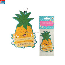 Hot Sales Cheaper Cute Pineapple New Design Air Car Freshener