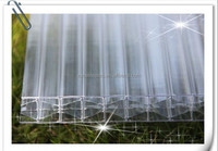 fire proof uv protection transparent/translucent polycarbonate sheet for greenhouse