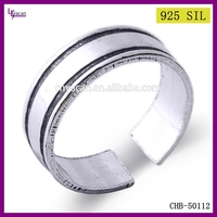 Fashion Costume Jewellery Hot Sale 925 Sterling Silver Vintage Gold Rings Without Stones