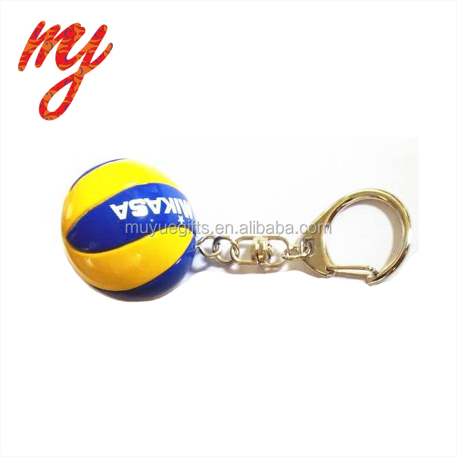 Gift Promotional Sport Volleyball Keychain