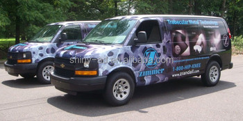 Custom Printed Vehicle Wrap printing service
