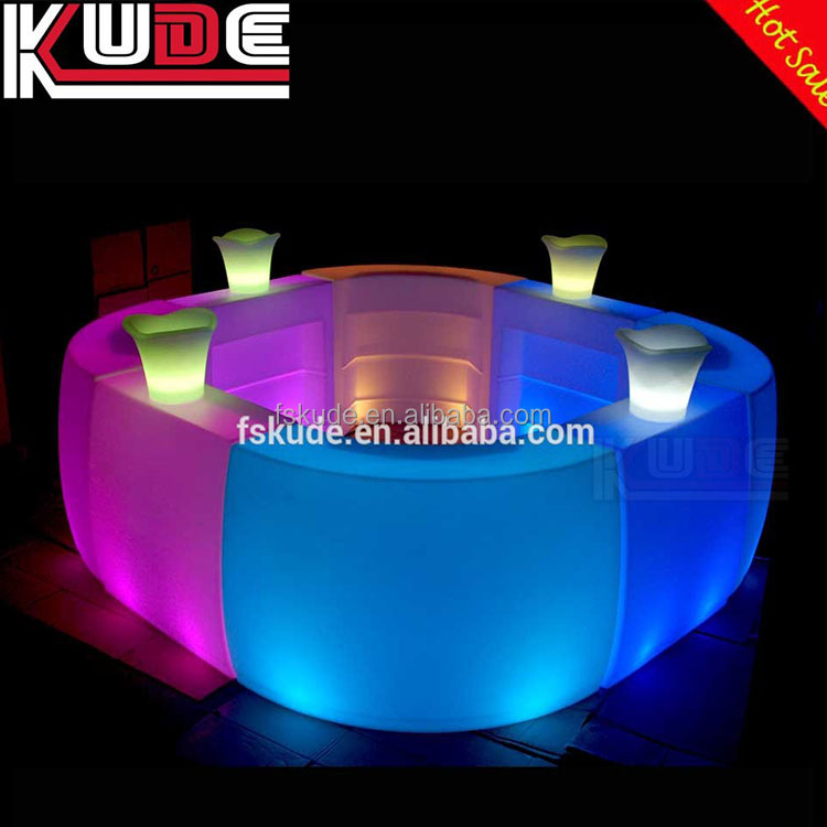 Rechargeable Waterproof LED Furniture Garden Event Club Outdoor Bar Counter