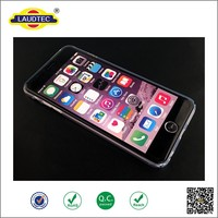 High Quality Transparent Crystal Clear PC Hard Case Mobile Phone Case for iPhone 6, hot selling case for iphone6