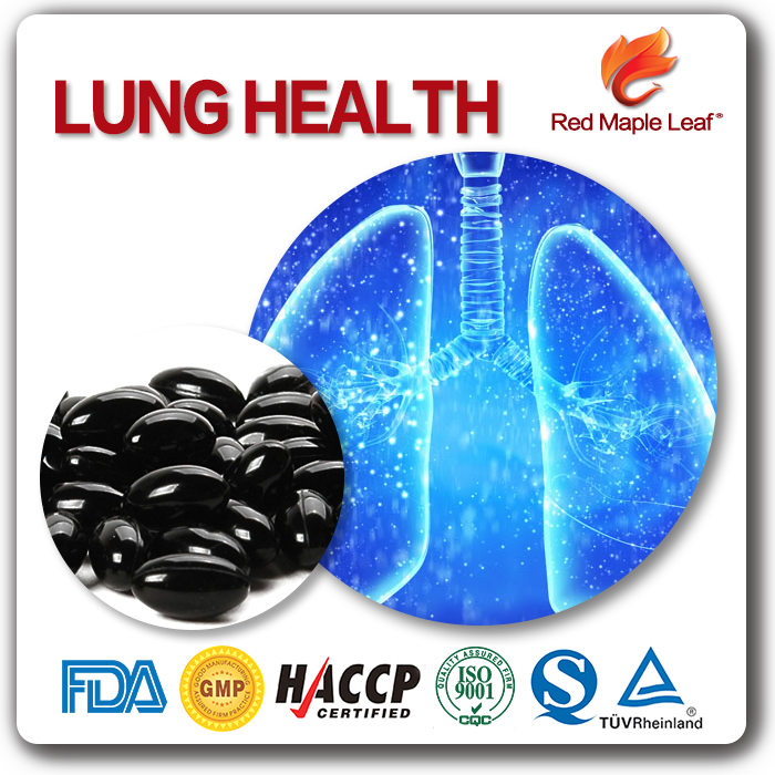Lung Health Supplements For Smoker Asthma Soft Gels