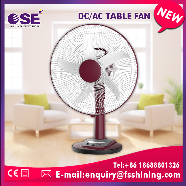 Best selling products 16inch oscillating dc table fan with low noise