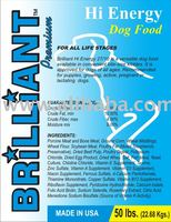 Brilliant Premium Hi-Energy Dog Food 50lbs
