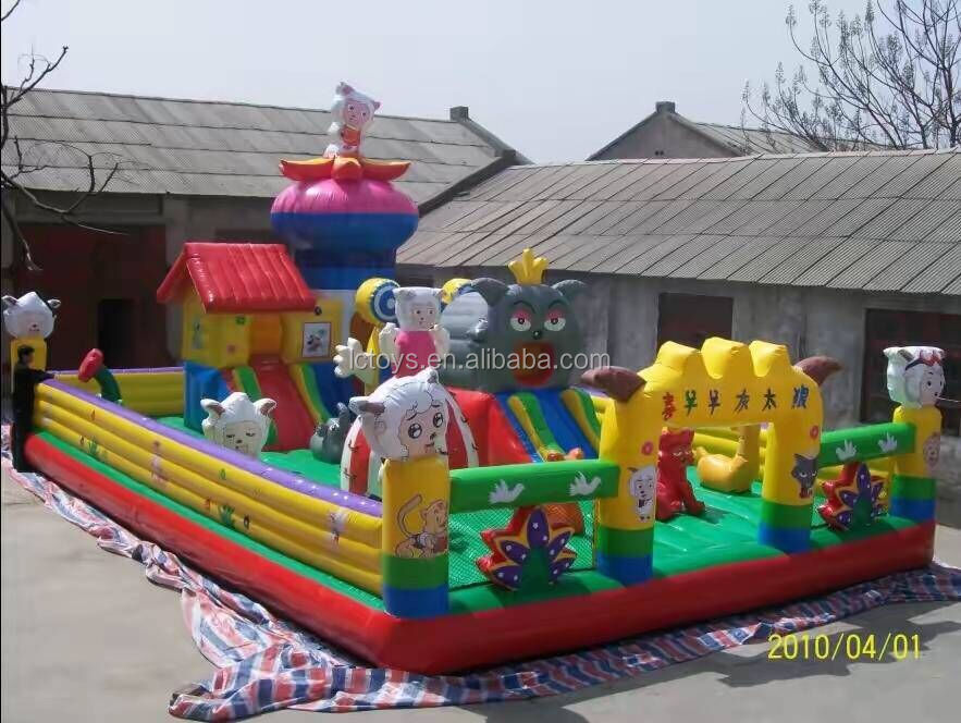 2016 Hot Sale Customized Funny Kids Inflatable Sheep Jumping Castle