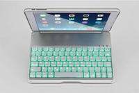 Luminous Ultra-thin Wireless Bluetooth tablet Keyboard Stand Case Cover For iPad Air/ipad5
