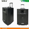 2016 Guangdong MBA Speaker Brand New Product 15-inch Bass Private Mode Big Battery Powered Outdoor Stage Sound System Speaker