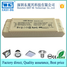 L324 CE EMC 11w 25w plastic housing high PF LED driver constant current adjustable 270ma 330ma 550ma for panel lights