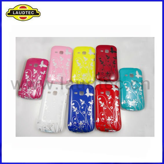 Butterfly Hard Case for Samsung Galaxy Mini 2 S6500,More Colors Available,Laudtec