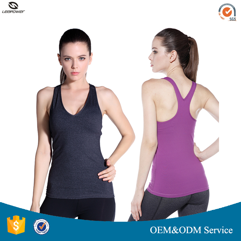 Wholesale Fitness Apparel Womens Fitness Workout Tank Top With Private Logo