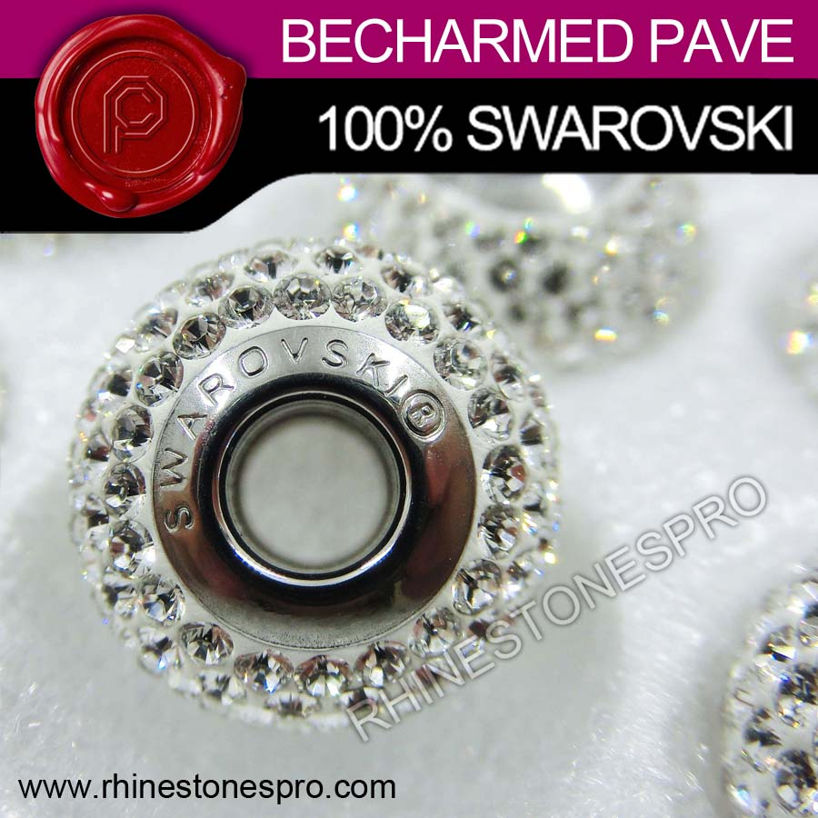 Swarovski Elements 80101 BeCharmed Pave Crystal Stone