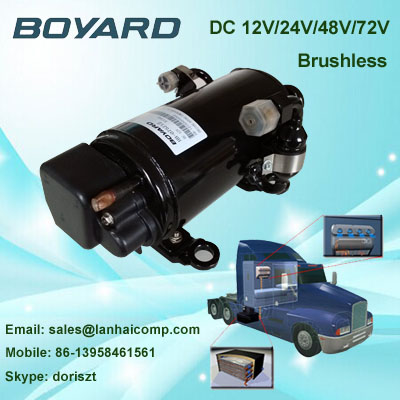 boyard <strong>r134a</strong> <strong>12v</strong> dc air conditioner compressor refrigerator compressor for mini air conditioner for cars <strong>12v</strong>