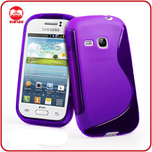 Classical Ultra Slim Fit S-Line Shaped Shell for Samsung Galaxy Young Cases and Covers
