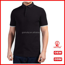 men polo t shirt from chinn factory polo t shirt newly design on back