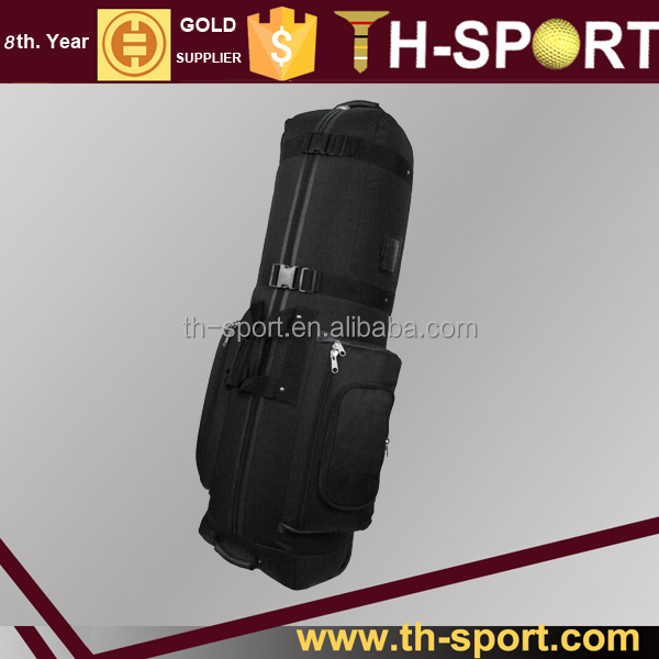 Durable OEM logo Golf travel bag with wheels